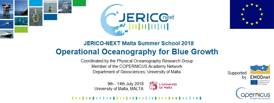 JERICO-Next summer school banner