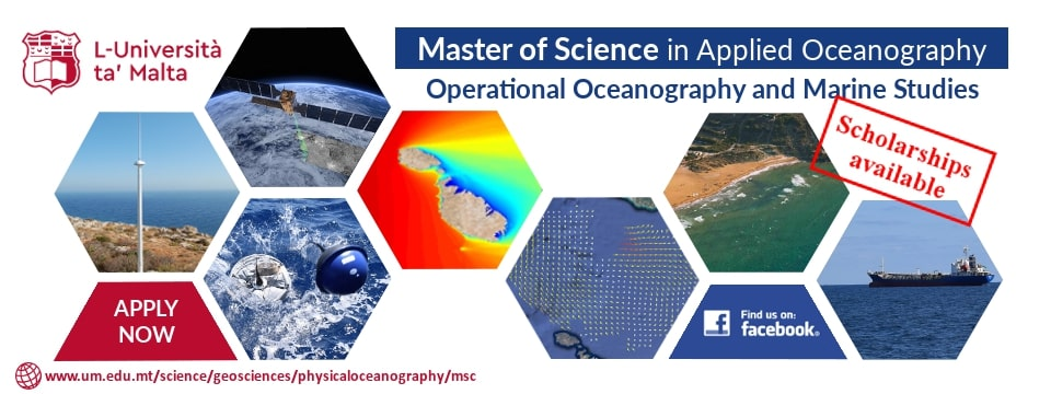 MSc in Applied Oceanography banner